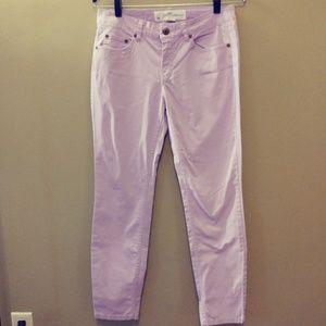 H&M LIGHT PURPLE STRETCH PANTS